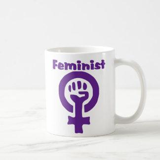 Feminist Symbol in Purple Coffee Mug