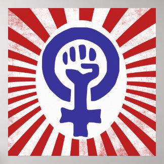 Feminist Symbol Poster
