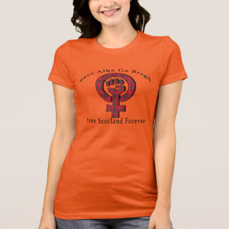 Feminist Symbol Scottish Independence T-Shirt