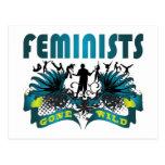 Feminists Gone Wild Postcard