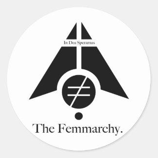 Femmarchy Logo Stickers