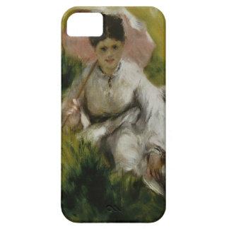 Femme à l'ombrelle et enfant - Auguste Renoir Barely There iPhone 5 Case