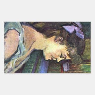 Femme de Maison by Toulouse-Lautrec Sticker
