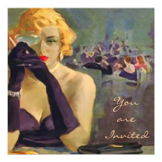 Femme Fatale Invitations