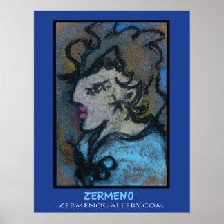 """""""Femme Parisienne"""" by Zermeno Poster"""