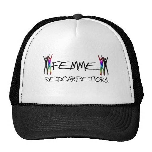 Femme Red carpet -iora Mesh Hats