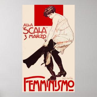 Femminismo Poster