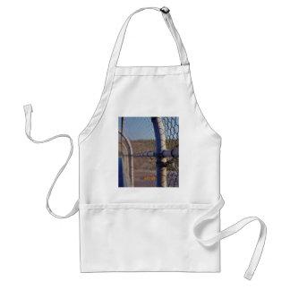Fence over-bridge standard apron