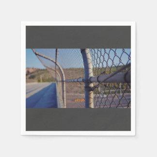 Fence over-bridge disposable napkins