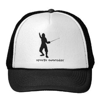 fence-play,swordplay,skate,sport,gym,compete, spor cap