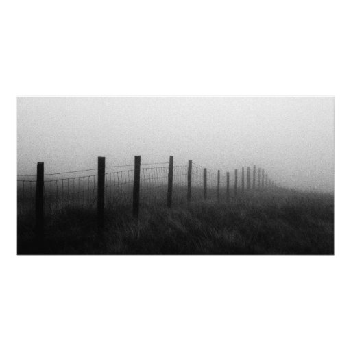 Fence Posts Photo Card