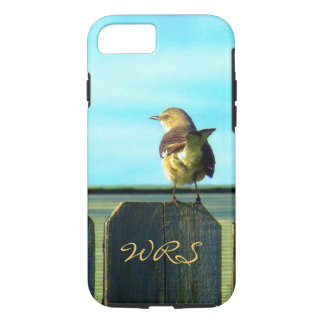 Fence Sitter Monogrammed iPhone 7 Case