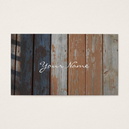 Fence Wooden Wood Farm Country Business Cards