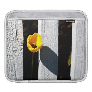 Fenced Tulip iPad Sleeves
