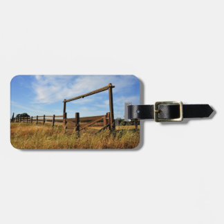 Fences in Field Bag Tag