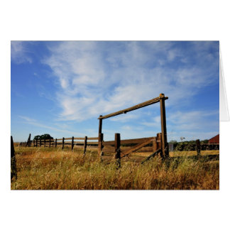 Fences in Field Card