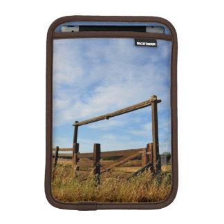 Fences in Field Sleeve For iPad Mini