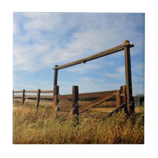 Fences in Field Tile