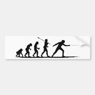 Fencing Bumper Sticker