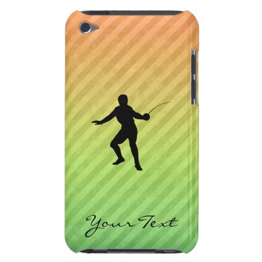 Fencing Barely There iPod Cover