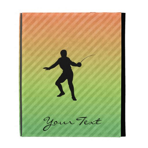 Fencing iPad Folio Cases