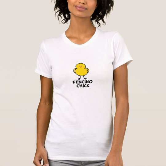 Fencing Chick T-Shirt