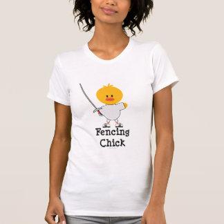 Fencing Chick Tshirt