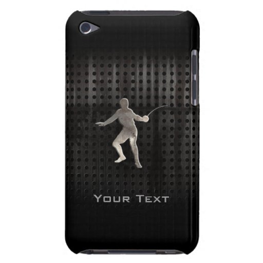 Fencing; Cool Black iPod Touch Cover