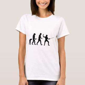 Fencing Evolution T-Shirt