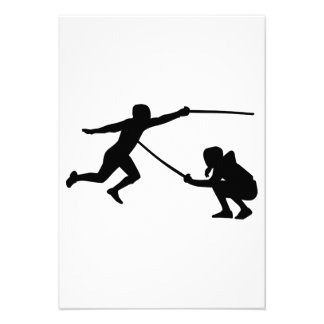 Fencing fencer personalized invite