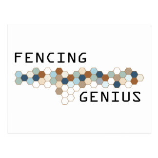 Fencing Genius Postcard