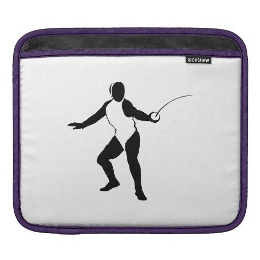 Fencing iPad Sleeves