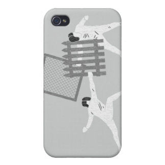 Fencing Case For iPhone 4
