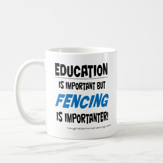Fencing is importanter mug