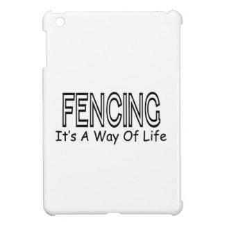 Fencing It s A Way Of Life iPad Mini Cases