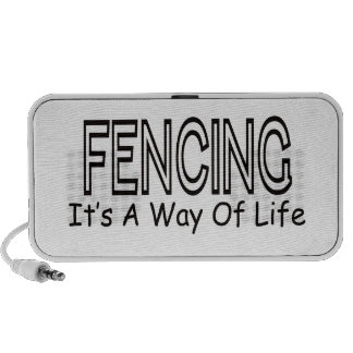 Fencing It s A Way Of Life Speakers