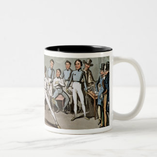 Fencing: Jerry's admiration of Tom in an `Assault' Two-Tone Coffee Mug