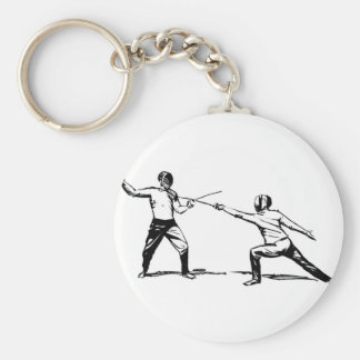 Fencing Key Ring