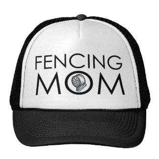 Fencing Mom Mesh Hats
