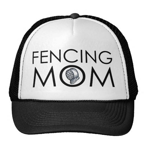 Fencing Mom Mesh Hats