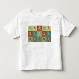 Fencing Pop Art Toddler T-Shirt