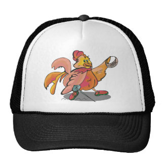 Fencing Rooster Mesh Hat