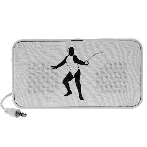 Fencing Travel Speaker
