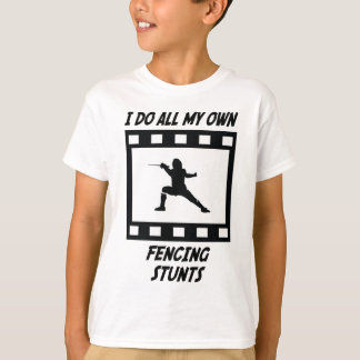 Fencing Stunts T-Shirt