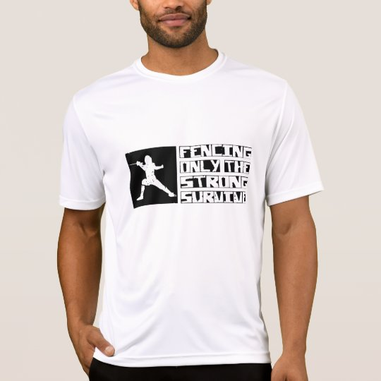 Fencing Survive T-Shirt