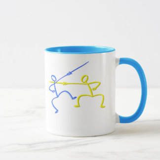 Fencing T-shirts and Gifts. Mug