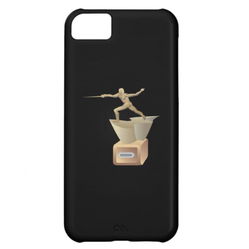 Fencing Trophy Cover For iPhone 5C