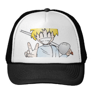 Fencing with Smile Trucker Hat