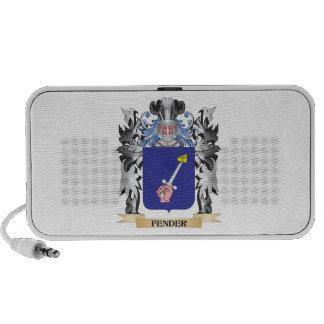 Fender Coat of Arms - Family Crest Notebook Speaker
