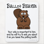 Fending off ballot chasers mouse mats